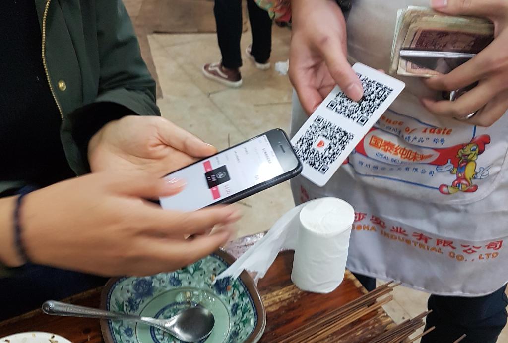 Alipay und WeChat Pay