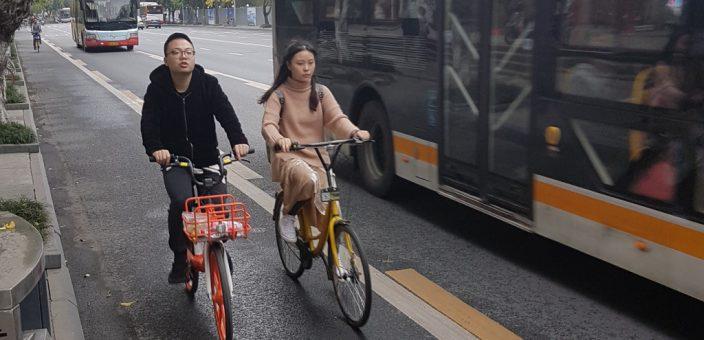 mobike und OFO – Bikesharing der Superlative