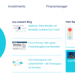 Relaunch Rentablo Finanzmanager und Webinar-Reihe