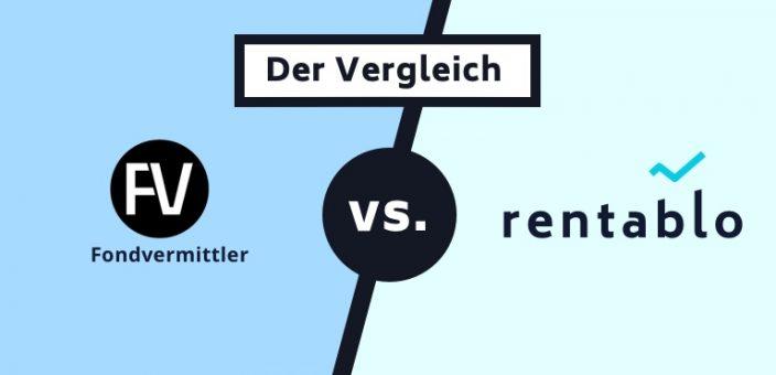 Fondsvermittler.de im Vergleich mit Rentablo (Stand: 24.04.2020)