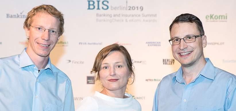 Experten für Fondsdiscount und alles rund ums Fondssparen: Wolfram Stacklies, Susanna Pietrzala, André Rabenstein