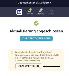Finanzmanager PSD2