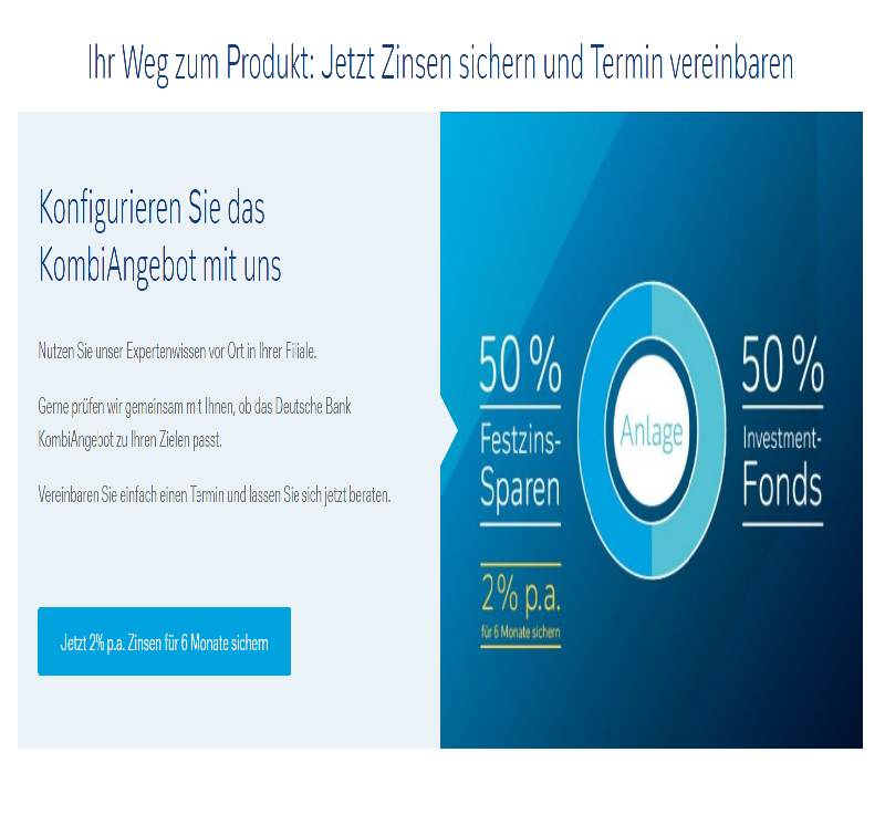 Screenshot: Deutsche Bank